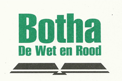 Botha De Wet en Rood Prokureurs / Attorneys